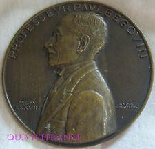 MED5480 - MEDAILLE Pr PAUL BEGOUIN BORDEAUX 1937 par LAVRILLIER