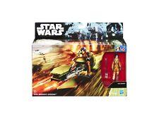 Figurine - Star Wars - B6113 Ezra Bridger's Speeder + Ezra (Rebels) - Hasbro