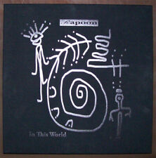 RAPOON In This World LP/CD/DVD BOX *ART EDiTiON* CLEAR ViNYL zoviet france coil
