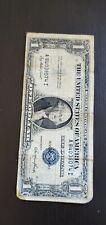 1935 E ONE DOLLAR BILL silver certificate