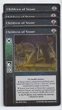 Children of Stone x4 Lost Kindred LK VTES Jyhad