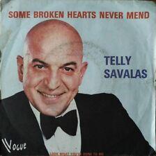"Telly Savalas - Some Broken Hearts Never Mend - Vinyl 7"" 45T (Single)"