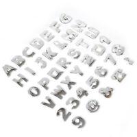 3D Auto DIY Metallic Alphabet Buchstaben Nummer Abzeichen Aufkleber Aufkleber