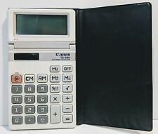 Clean Excellent Condition White Canon Ts-84H Scientific Solar Powered Calculator