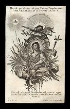 santino incisione 1700 S.GIOVANNI BATTISTA klauber