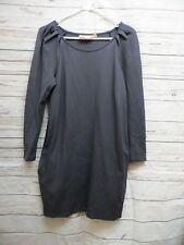 Rebecca Minkoff Women Long sleeve dark gray dress Size XS