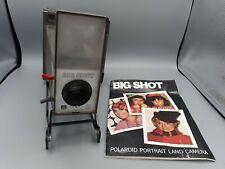 De Colección Cámara Polaroid Retrato tierra Big Shot Con Manual Warhol instantáneo
