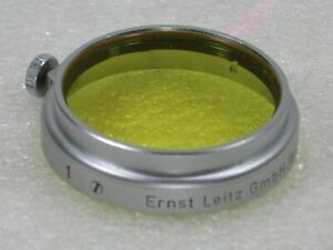 Leica A36 Slip-in Yellow Filter For 5cm Hektor & 13.5cm ELMAR