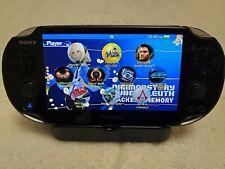 Sony PlayStation PS Vita oled screen Black 3.60 firmware  version 64GB sd2vita