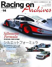 New listing Racing on Archives Vol.14 Silhouette Formula Japanese book Porsche 935 c1