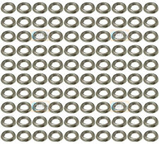 100 Pezzi - N. 9-10 Nickel Vite Rondella A Tazza Girati Stampa Presa Mobile