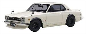 1/18 Nissan Skyline GTR KPGC10 Tuned Version White Japan NEW