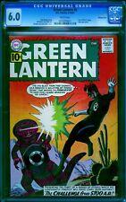 Green Lantern # 8 CGC 6.0 -- 1961 -- 1st 5700 AD Story. Diamond Run #0015374011