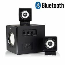 Sumvision N-Cube Pro 2.1 Speakers System With Bluetooth For PC Laptop MP3 Player