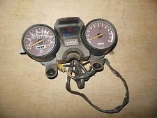 81 Suzuki GS 750 instrument fuel gauge cluster speedometer speedo tach lights