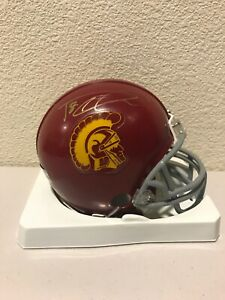 Damian Williams Signed USC Trojans Mini Helmet PSA/DNA