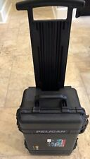 Pelican 1510 Case With Padded Dividers - Black with yellow inserts