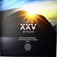 Estland 3,88 Euro 2016 KMS 1 Cent - 2 Euro Wiederherstellung der Unabhängigkeit