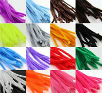 PIPE CLEANERS FOR CRAFTS 30CM CHENILLE STEMS *33 COLOURS* ASSORTED ARTS CHILDREN