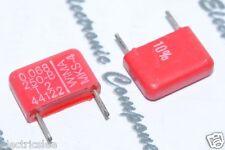 10pcs - WIMA MKS4 0.068uF (0.068µF 0,068uF 68nF) 250V 10% pich:10mm Capacitor