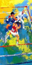 "Leroy Neiman ""Olympic Boxing Moscow"" Sports boxing hand signed/# serigraph"