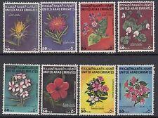 UAE : 1990 Flowers set SG 312-9 MNH