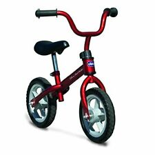Chicco First Bike - Bicicleta sin pedales con sillín regulable, color (Rojo)