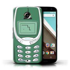 STUFF4 Back Case/Cover/Skin for Motorola Nexus 6/Retro Phones