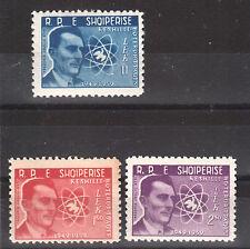 1959 Albania. Albanian Stamps.Frderik Jolyet Curie.  MNH.