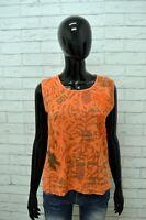 Maglia MARLBORO CLASSICS Donna Taglia M Maglietta Canotta Shirt Woman Cotone