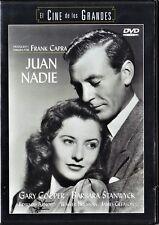 JUAN NADIE de Frank Capra. España tarifa plana envíos DVD, 5 €