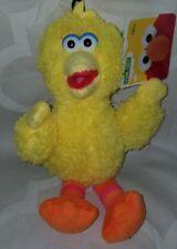 "Sesame Street 2013 NICE SOFT BIG BIRD 10"" Plush STUFFED ANIMAL Toy NEW hard eyes"