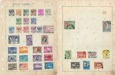 Singapore Collection on 17 Quad Pages, All Different Lot