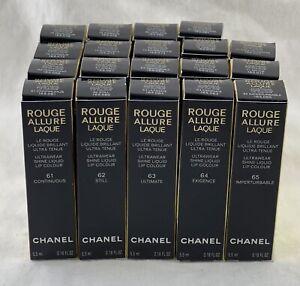 Chanel Rouge Allure Laque Ultrawear Shine Liquid Lip Colour PICK ONE! .18 Fl Oz