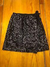 Girls Sz 10 Navy Holiday Skirt