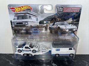 Hot Wheels Team Transport Ford RS200  & Rally Van