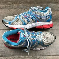New Balance Womens 580 v4 Silver Blue Pink Running Shoes Size 8
