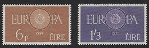 Ireland, Scott# 175-176  VF Mint Never Hinged, 1960 Europa