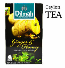 Ceylon Tea ginger Flavored Ceylon Black Tea   Dilmah   20 TEA BAGS