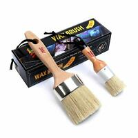 Chalk & Wax Paint Brush Furniture - Painting or Waxing - Milk Paint Oval Brushes