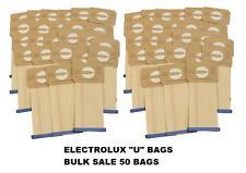 ELECTROLUX U BAGS BULK SALE 50 BAGS