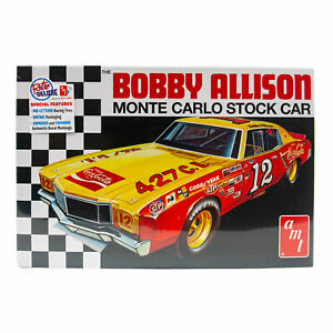 AMT Bobby Allison Monte Carlo Stock Car Model Kit Sealed