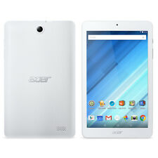 """Acer Iconia One 8"""" Quad Core Android Tablet 16GB B1-850-K42F A6001 White"""