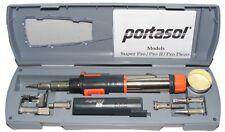 PORTASOL SUPER PRO 125 MK2 CORDLESS GAS SOLDERING IRON FULL KIT  SP-1K+EXTRAS