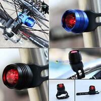 Led Bike Bicycle Cycling Front Rear Tail Helmet Safe Flash Light Warning Lamp MT