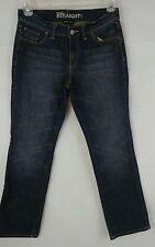 New York & Company Mid Rise Straight Leg Women's Size 8P Inseam 29 Jeans