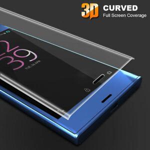 FULL CURVED 3D TEMPERED GLASS SCREEN PROTECTOR For Sony Xperia XZ2 XA XZ XA2 XZ3