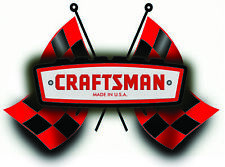 Craftsman Tool Sticker Check Flag Pinup Sexy Vintage Decal Mechanic Toolbox Usa