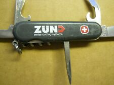 Wenger Commander Swiss Army knife in green -  no pick or tweezers -ZUN