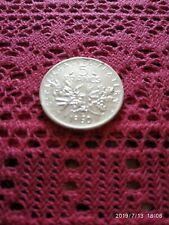 Piece de 5 francs en argent 1960
